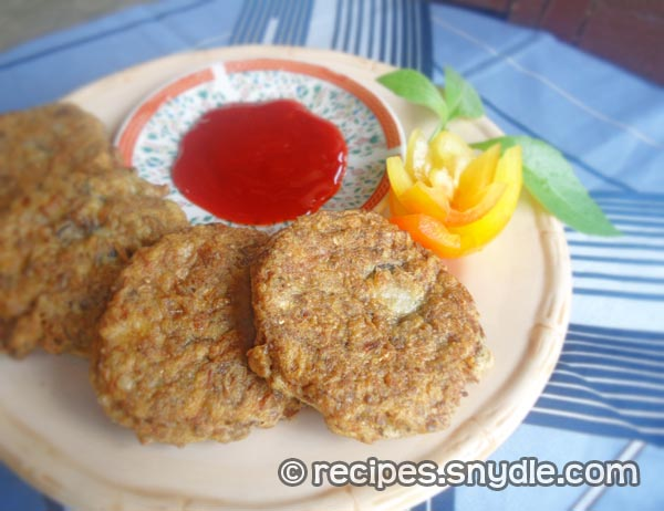 Puso Ng Saging Recipe ( Banana Blossom Patties)