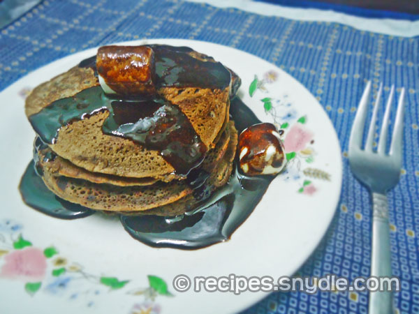 Chocolate-Flavored Pancake Recipe