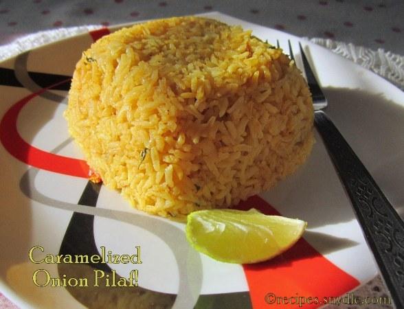 Onion pilaf recipe