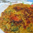 Savory Chickpea Flour Pancakes Recipe / Besan jo Chillo Recipe