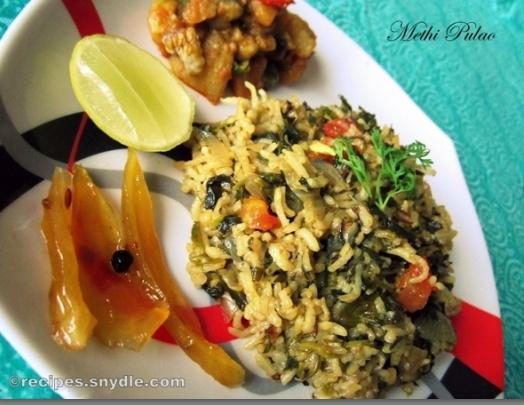 indian pulao recipe