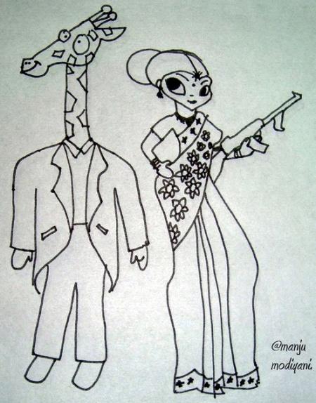 marriage girl boy cartoon