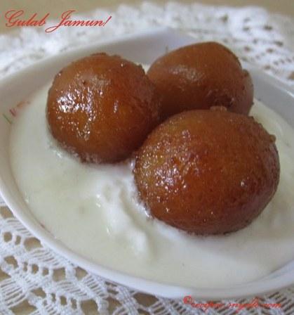 Gulab Jamun recipe by sanjeev kapoor