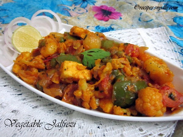Vegetable jalfrezi recipe yummy recipes vegetable jalfrezi recipe forumfinder