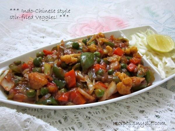 chinese veggies stir fried