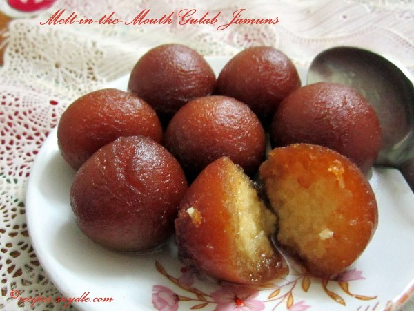 khoya gulab jamun recipes