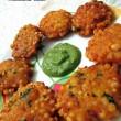 Sabudana Vada Recipe / Sago Fritters Recipe