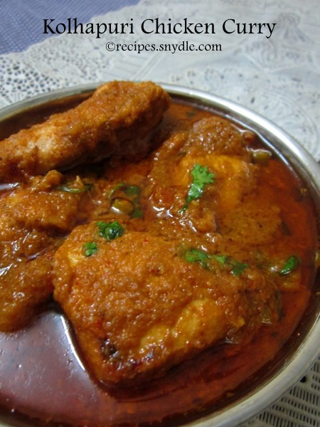 Kolhapuri Chicken Curry