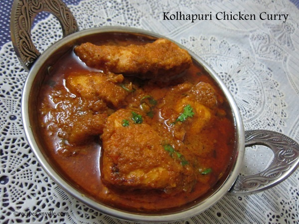 How To Make Kolhapuri Chicken Curry
