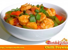 CHILLI PRAWNS (DRY) RECIPE