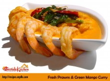 FRESH PRAWNS & GREEN MANGO CURRY