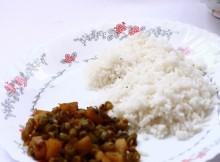 beans potato mezhukkupuratti
