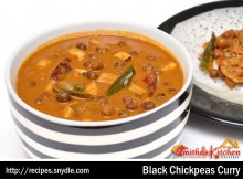 BLACK CHICKPEAS CURRY