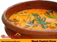 BLACK POMFRET CURRY