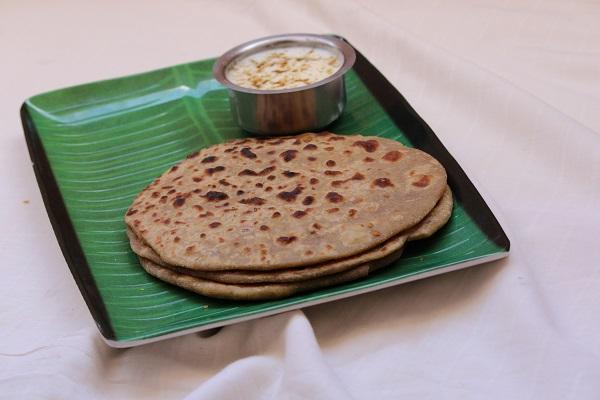 channa paratha recipe