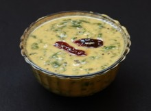 cheera curry / Kerala style curry / dal palak curry
