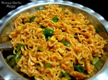 Honey-Garlic Maggi Recipe