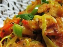 Spiced Flatbread Strips Recipe