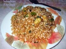 Sabudana khicadi recipe