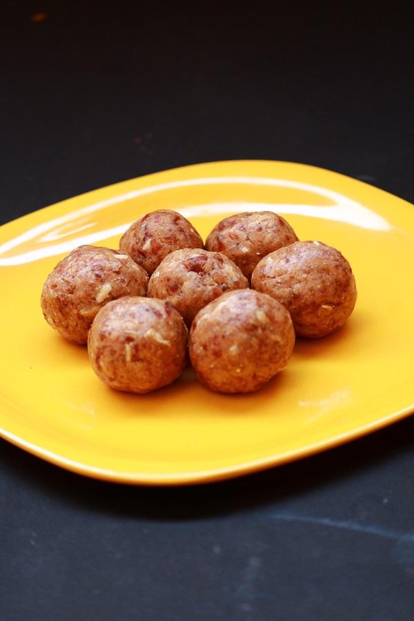 dates peanut ladoo