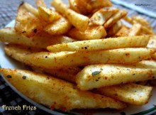 Masala French Fries Recipe / McDonald's French Fries Recipe