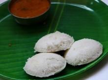 idli with sambar