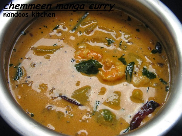 prawns-mango-curry