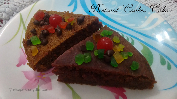 beetroot cooker cake recipe