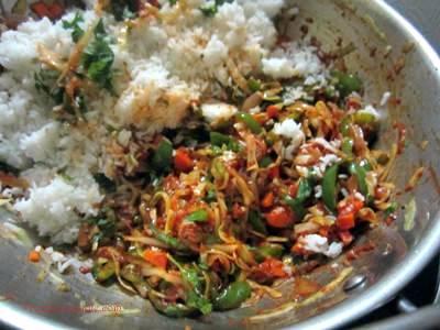 chicken triple schezwan fried rice recipe
