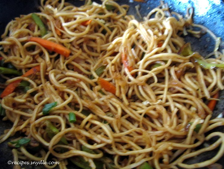 chinese noodle recipe