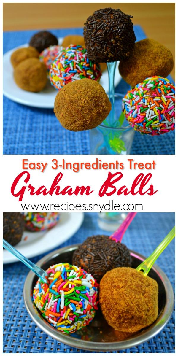 Graham Balls Recipes Yummy Recipes