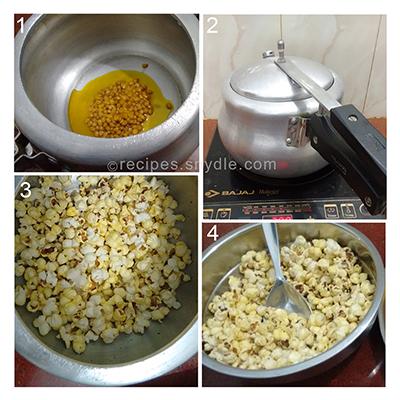 instant popcorn bhel
