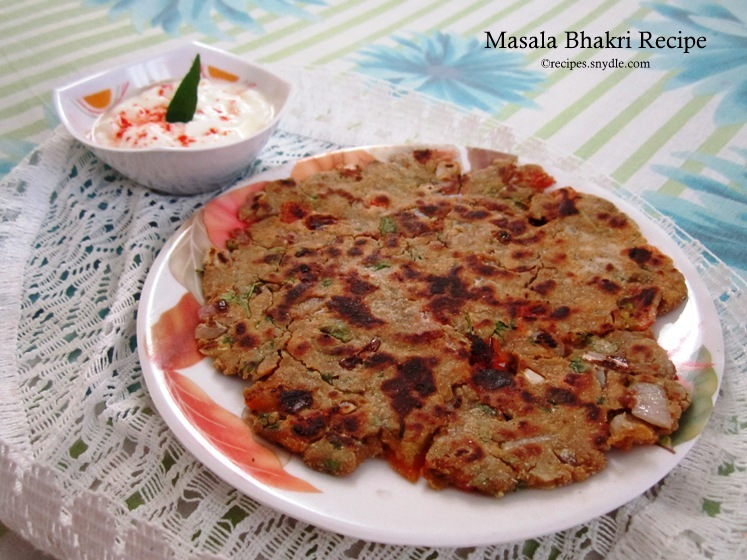 Masala Bhakri Recipe