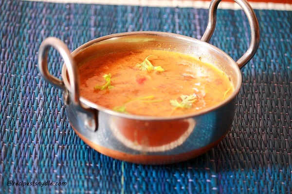 Tomato curry for appam