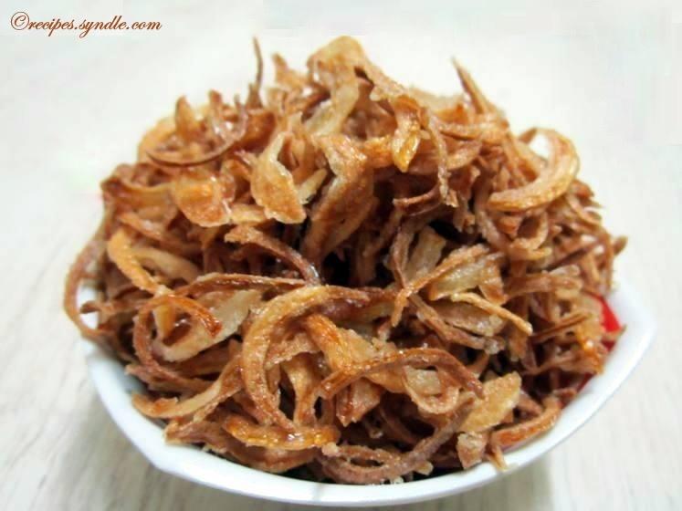 Barista Recipe / Crispy Fried Onion Recipe