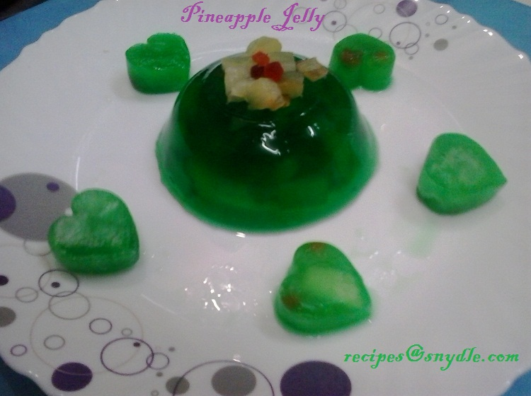 how to make vegetarian jelly
