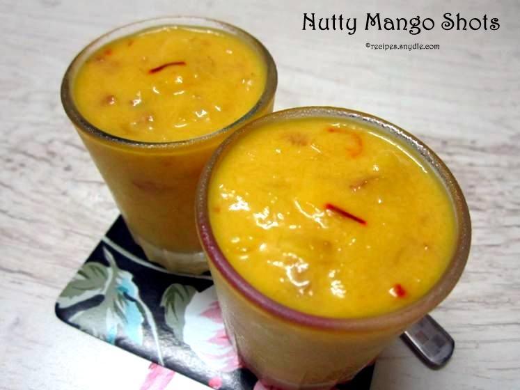 Nutty Mango Shots Recipe