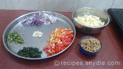 aaloo urad badi ingredients