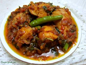 chicken kolhapuri recipe