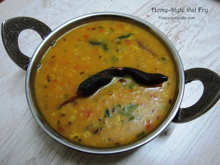 dal fry recipe in gujarati