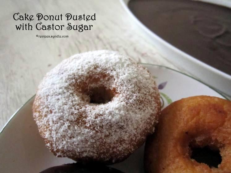Cake Doughnut Recipe / Donut Recipe