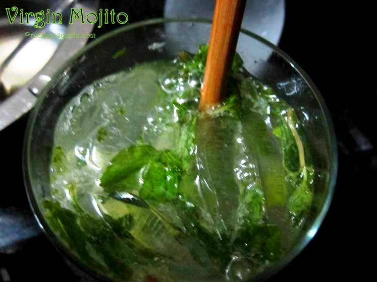 recipe for virgin mojito