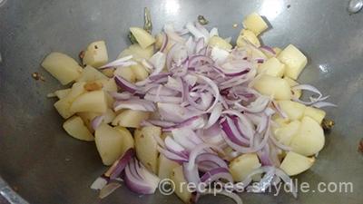 simple aaloo badi recipe