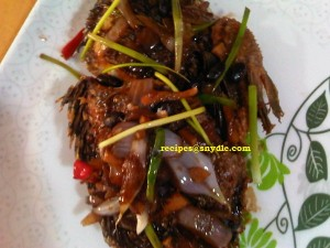 tilapia with fermented black beans (6)