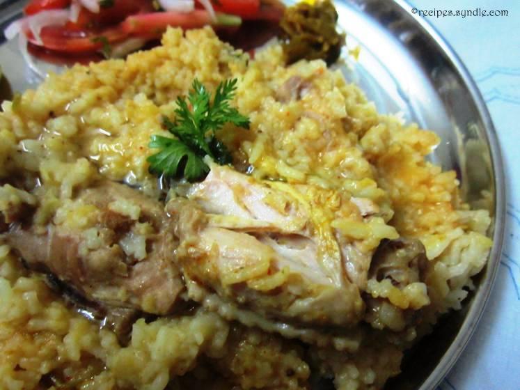 Chicken-Khichdi