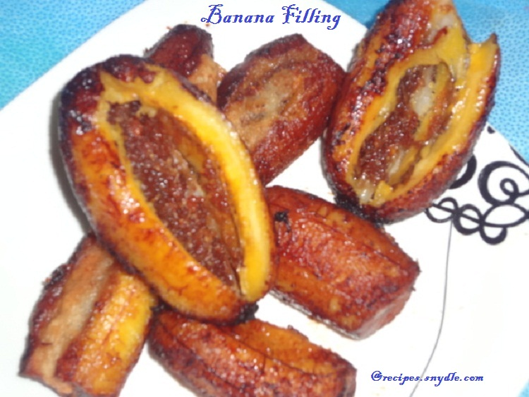 Stuffed Banana Recipe
