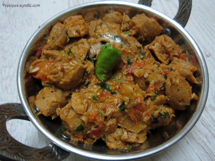 Soya Masala Recipe / Soya Chunks Masala Recipe