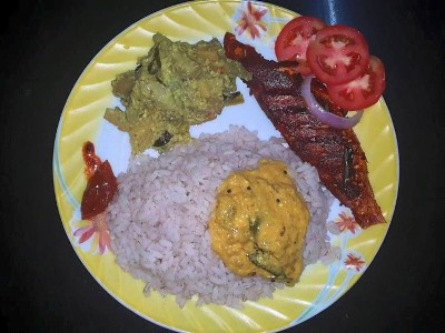 Kerala-KilimeenFry-with-rice