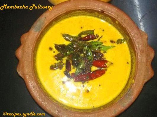 Mambazha Pulissery recipe
