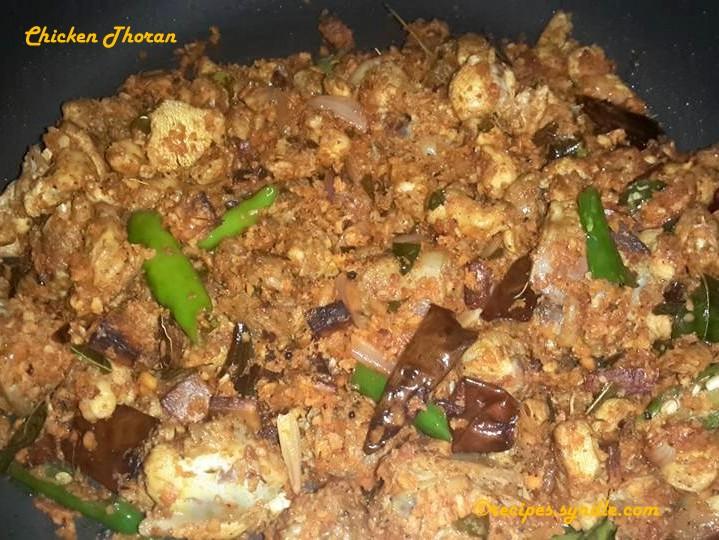 Chicken Thoran